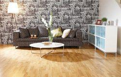 Ξύλινο προγυαλισμένο δάπεδο Oak Nature καθαρό χρυσσαλίδα, πάχος 14mm, 3strip (60m2) ΑΠΟ €32 ΜΟΝΟ €27/m2.