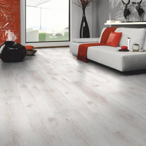 JB8051  Laminate oak white  7mm AC3/31  Από €10,90 μόνο €7,9/m2+ΦΠΑ 24%