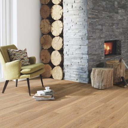 Προγυαλισμένο ξύλινο δάπεδο μονοσάνιδο Νορβηγίας oak Boen E1 133  (δρυς καθαρός χωρίς αρμό), 1strip μονοσάνιδο πάχος:14mm .Από €58/m2, Μόνο: €30/m2+ΦΠΑ.  Τελευταία μέτρα: 53τμ.Διαστ.119.5χ9.5cmΠακέτο: 1,475τμΚούμπωμα: Αρσενικό θυλικό (λούκι)για κολλητό 3.5 χιλιοστα ωφελιμο  πάχος 10mm