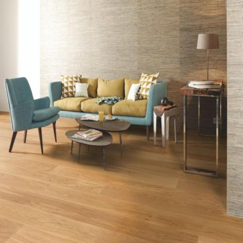 Προγυαλισμένο ξύλινο δάπεδο Νορβηγίας oak Boen 1083 (φυσικός δρυς καθαρό χωρίς αρμό), 1strip μονοσάνιδο πάχος:14mm,  διάσταση: 13.8×2.20Από €75/m2, Μόνο: €40m2+ΦΠΑ.  Τελευταία μέτρα: 27τμΚούμπωμα: Xpress clickΠακέτο: 3,03τμ