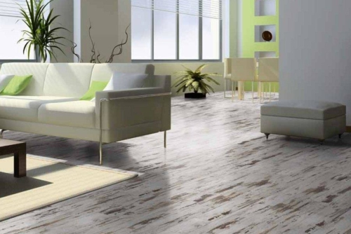 JE217325 Laminate White washed 8mm, AC4/32. Από €12,10/m2 Μόνο €9,60/m2