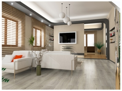 JB8026 Laminate 6mm oak grey AC3/31. Μόνο €6,30/m2Laminate 6mm γκρί μπέζ oak AC3/31 1 strip. Από €9,60/m2 μόνο €6,30/m2